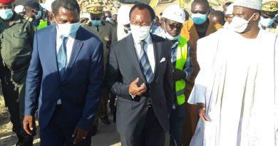 Atanga Nji and Nganou Djounessi arriving Maroua