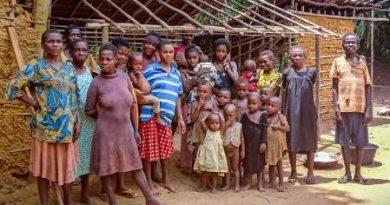 The Bagyeli community of Moungue Village. Photo credit: Madeleine Ngeunga/FPP